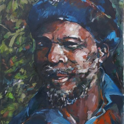 Portrait Painting of Chebe